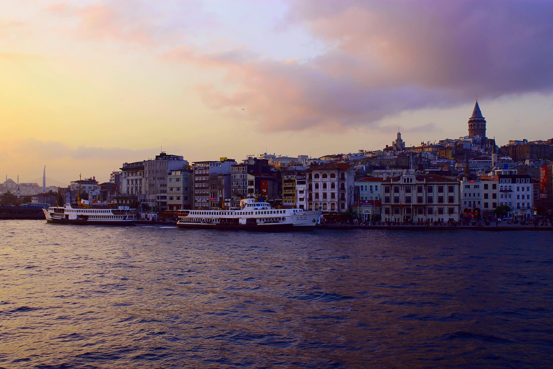 Hafenpanorama Karakoy Türkei |Ein wunderschöner Fleck